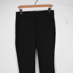 J Crew Cameron slim crop pants 4 G8547 black